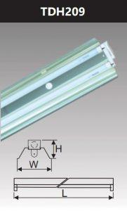 Đèn công nghiệp phản quang 2x9w TDH209