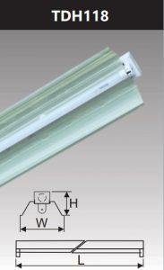 Đèn công nghiệp phản quang 1x18w TDH118