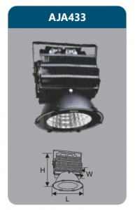 Đèn pha led 300w AJA433