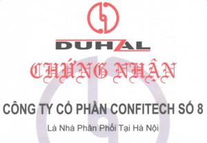 DUHAL bổ nhiệm Confitech No.8 là nhà phân phối tại Hà Nội