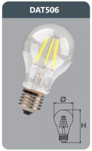 Bóng led bulb 6w DAT506