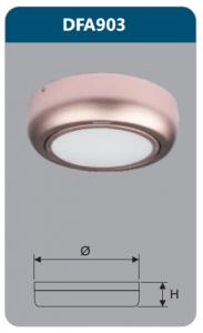 Đèn ốp trần led 12w DFA903