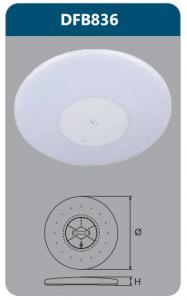 Đèn ốp trần led điều khiển 36w DFB836