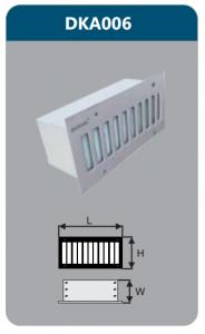 Đèn led âm tường 5w DKA006
