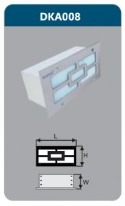 Đèn led âm tường 5w DKA008