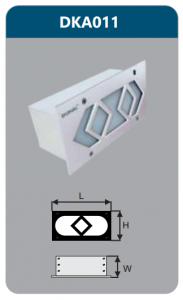 Đèn led âm tường 5w DKA011