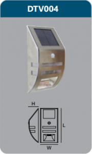 Đèn chiếu vách năng lượng mặt trời DTV004