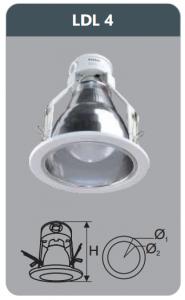 Đèn led downlight âm trần 7w LDL4