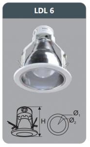 Đèn led downlight âm trần 12w LDL6