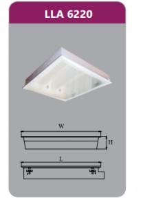 Máng đèn tán quang âm trần 2x9w LLA6220