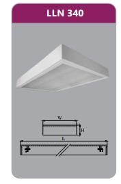 Máng đèn tán quang gắn nổi 3x18w LLN340