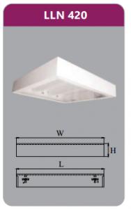 Máng đèn tán quang gắn nổi 4x9w LLN420