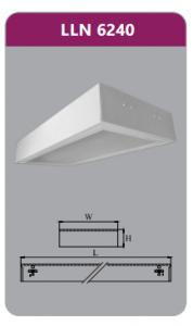 Máng đèn tán quang gắn nổi 2x18wLLN6240