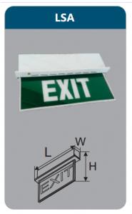 Đèn led thoát hiểm 5w LSA