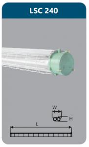 Đèn chống nổ 2x36w LSC240