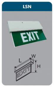 Đèn led thoát hiểm 5w LSN