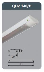 Đèn ốp trần led siêu mỏng 1x18w QDV140/P