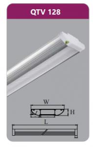 Đèn ốp trần led siêu mỏng 28w QTV128