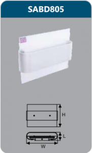Đèn led chiếu vách 6w SABD805