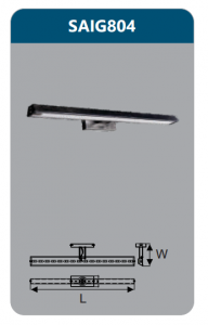Đèn led soi gương 9w SAIG804