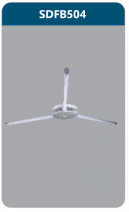 Đèn ốp trần led 3x9w SDFB504