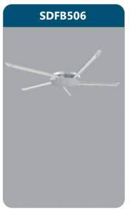 Đèn ốp trần led 5x9w SDFB506