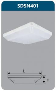 Đèn ốp trần led chống thấm 15w SDSN401