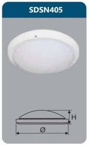 Đèn ốp trần led chống thấm 15w SDSN405