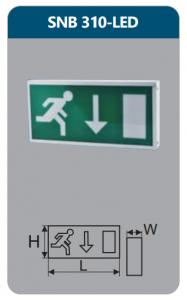 Đèn led thoát hiểm 5w SNB 310 -LED