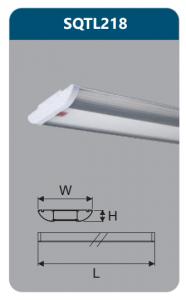 Đèn ốp trần led chụp mica 36w SQTL218
