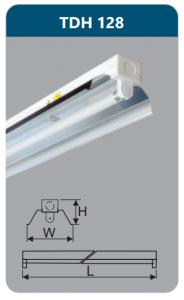 Đèn công nghiệp phản quang 1x28w TDH128