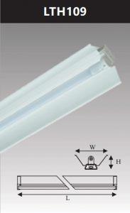 Đèn công nghiệp sơn tĩnh điện1x9w LTH109