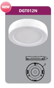 Đèn led panel gắn nổi tròn 12w DGT012N