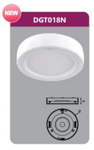 Đèn led panel gắn nổi tròn 18w DGT018N