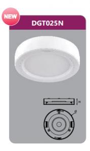 Đèn led panel gắn nổi tròn 25w DGT025N