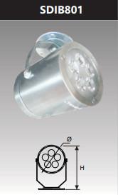 Đèn led chiếu điểm gắn trần 5w SDIB801