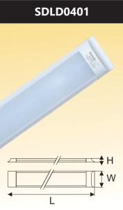 Đèn led ốp trần đổi màu 40W