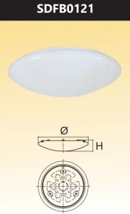 Đèn ốp trần led đổi màu 12W