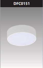 Đèn ốp trần led đế nhôm tròn 15W