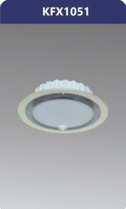 Đèn led downlight viền nhựa xi nano 5W