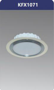 Đèn led downlight viền nhựa xi nano 7W