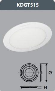 Đèn led panel âm trần 15W