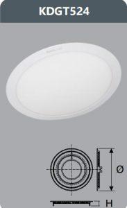 Đèn led panel âm trần 24W