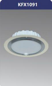 Đèn led downlight viền nhựa xi nano 9W