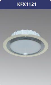 Đèn led downlight viền nhựa xi nano 12W